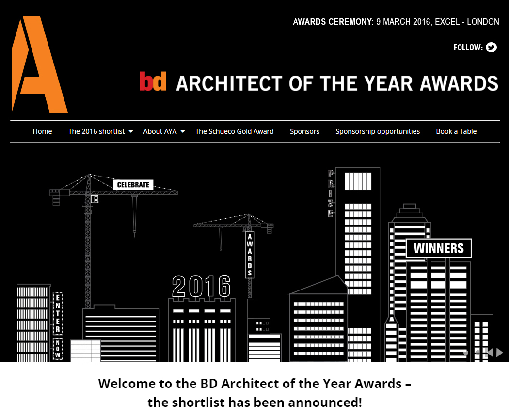 Architect of the Year Award