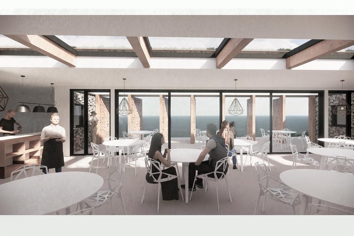 Silecroft Cafe Pavilion - interior