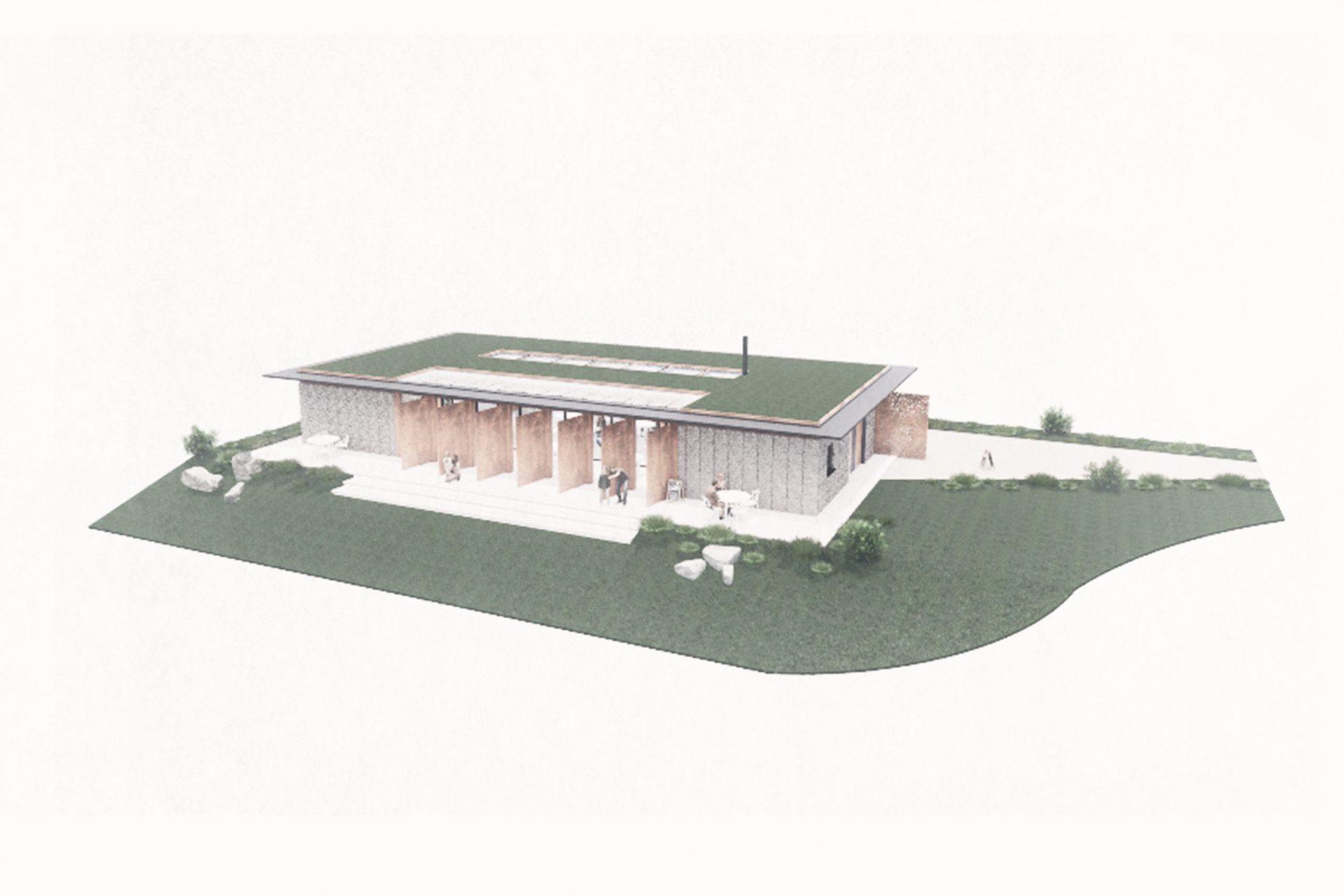 Silecroft Cafe Pavilion - render