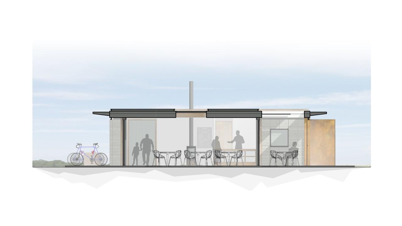 Silecroft Cafe Pavilion - sketch 2