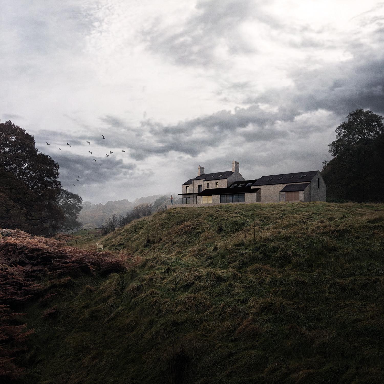 peak architects trunce farm front