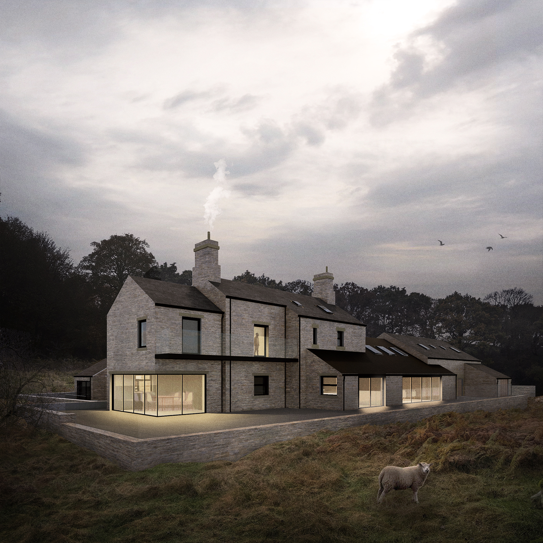 peak architects trunce farm rear